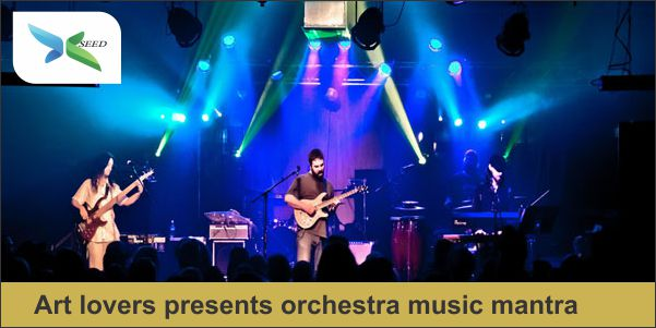 Art lovers presents orchestra music mantra